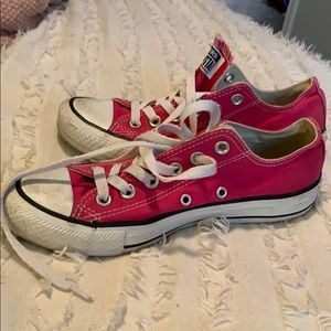 pink lowtop converse